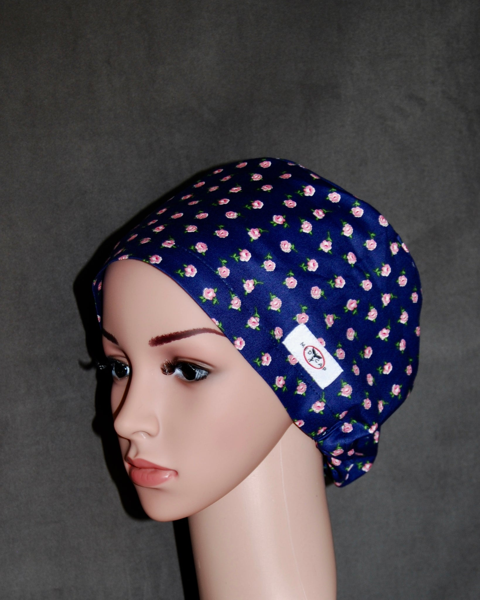 My Rose Snappi Scrub hat