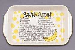 Banana Pudding Recipe Tray