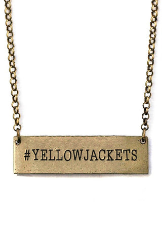 # YELLOWJACKETS Necklace