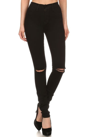 Feeling Fabulous Jeans in Black-Curvy