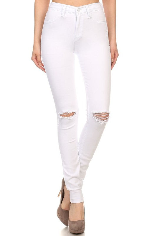 Feeling Fabulous Jeans in White