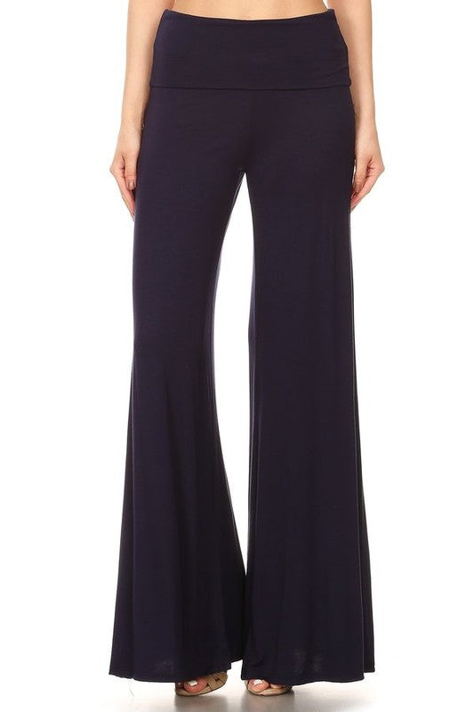 Dare to Flare Palazzo Pants in Black