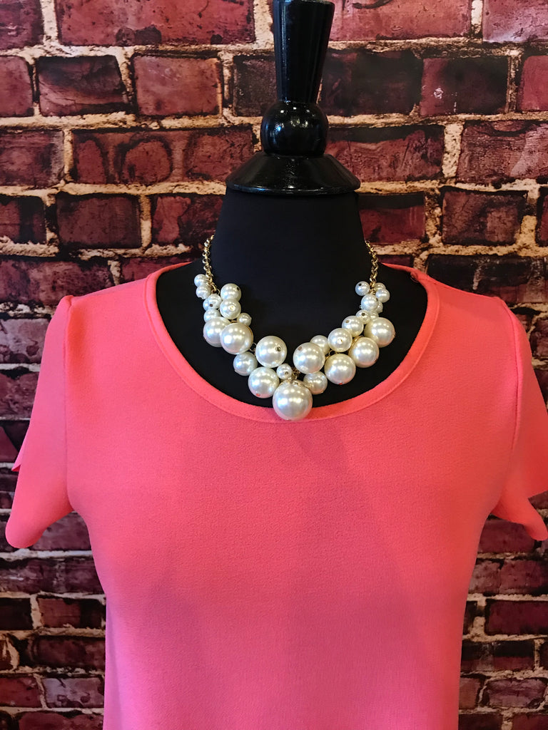 Pearl Hope Necklace in Gold