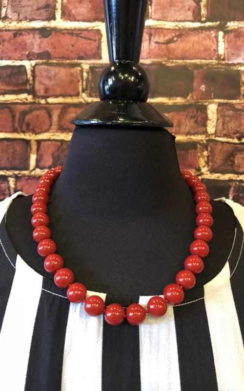 Venus Necklace in Red
