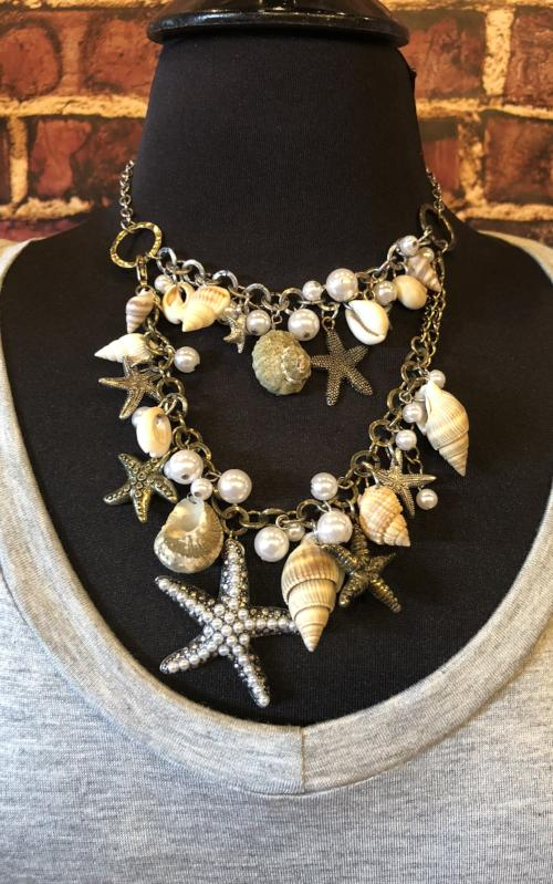 Shells by The Sea Necklace