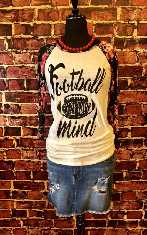 Football on my Mind Tee