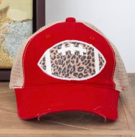 Wild About Football Hat