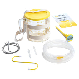 The Ultimate Glass Enema Kit