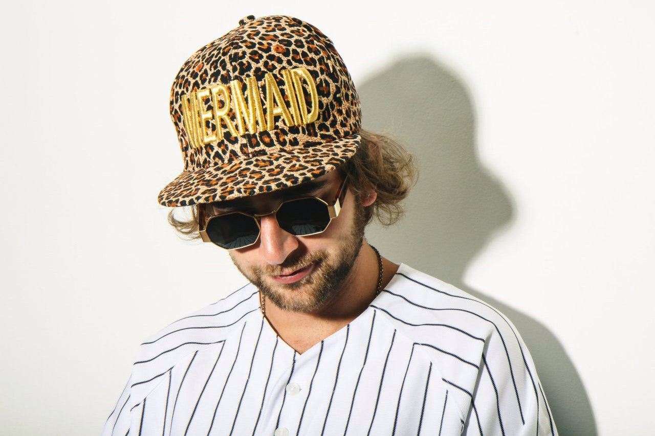 Wild Thing Mermaid SnapBack In Cheetah