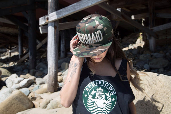 Camo Mermaid SnapBack