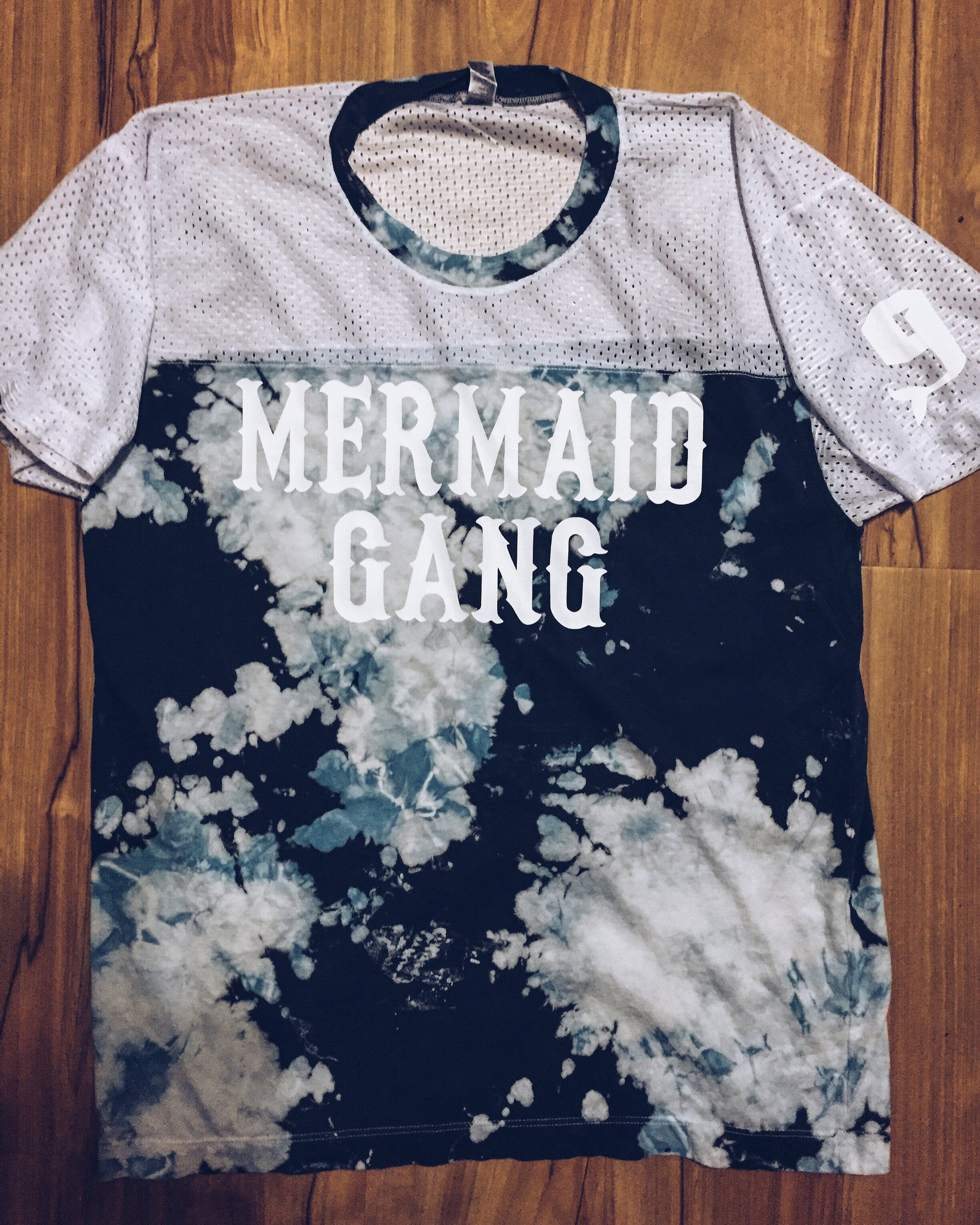 Mermaid Gang in Denim Dye