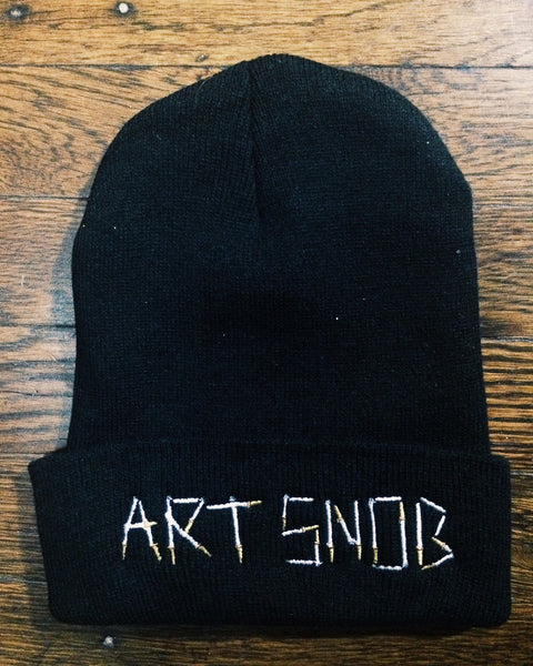 Art Snob Beanie in Black