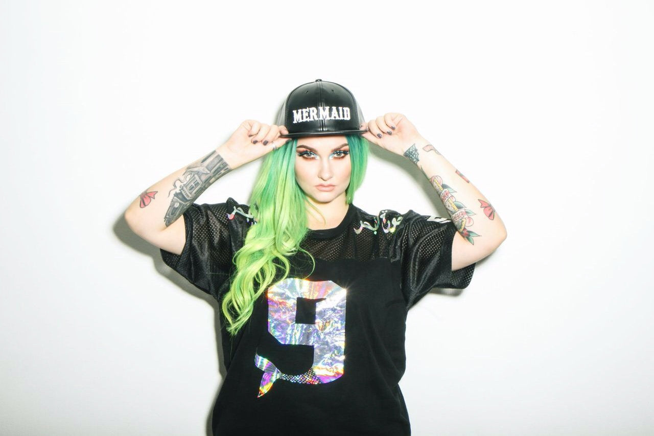 Black Onyx Mermaid SnapBack