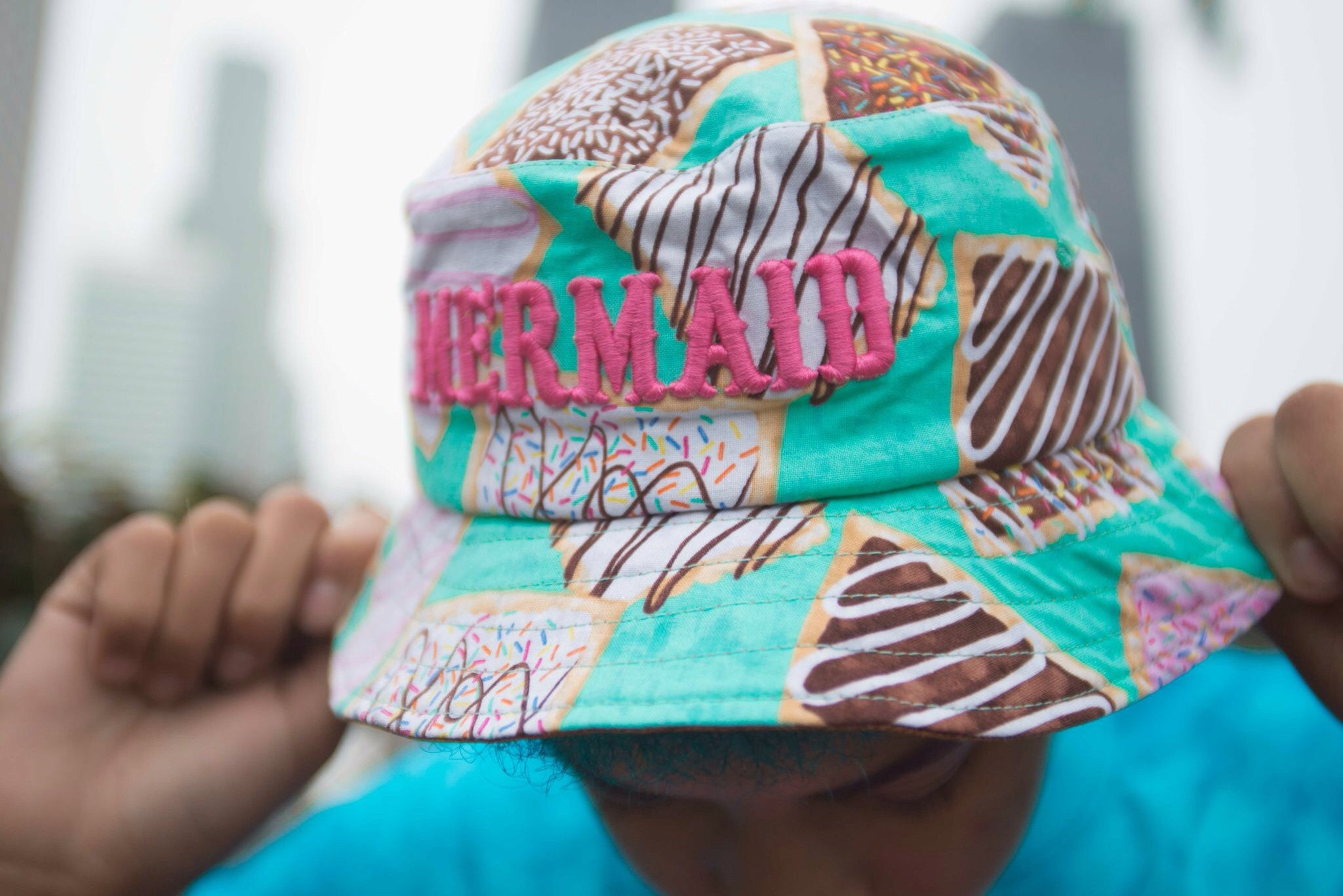 Pop Tart Mermaid Bucket Hat