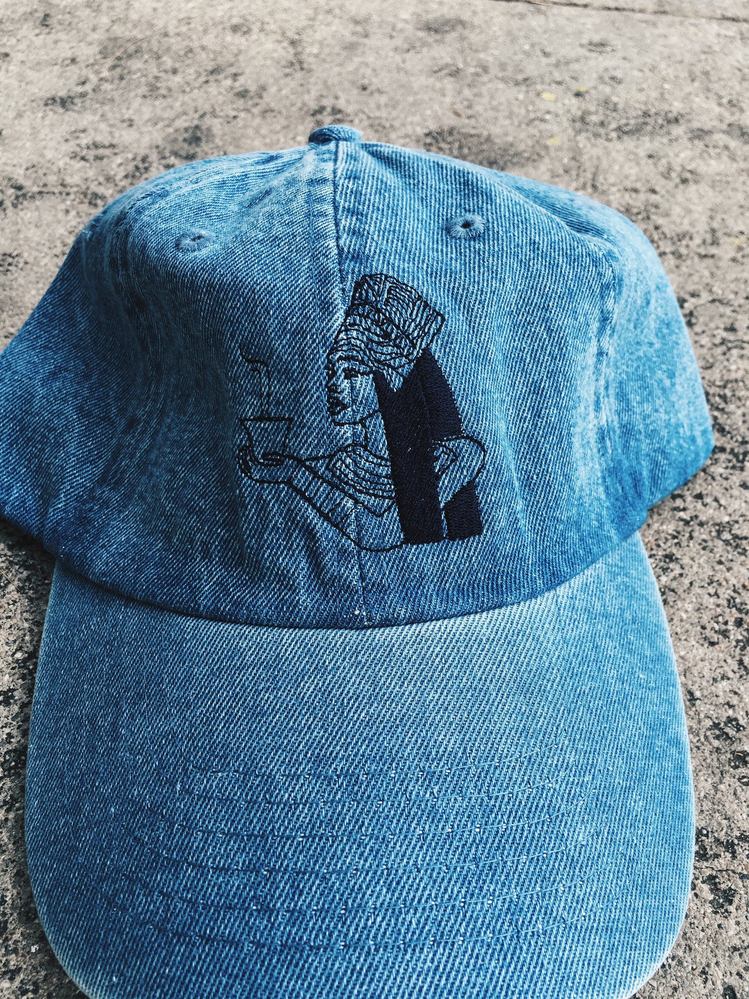 Apule Coffee Denim Dad Hat