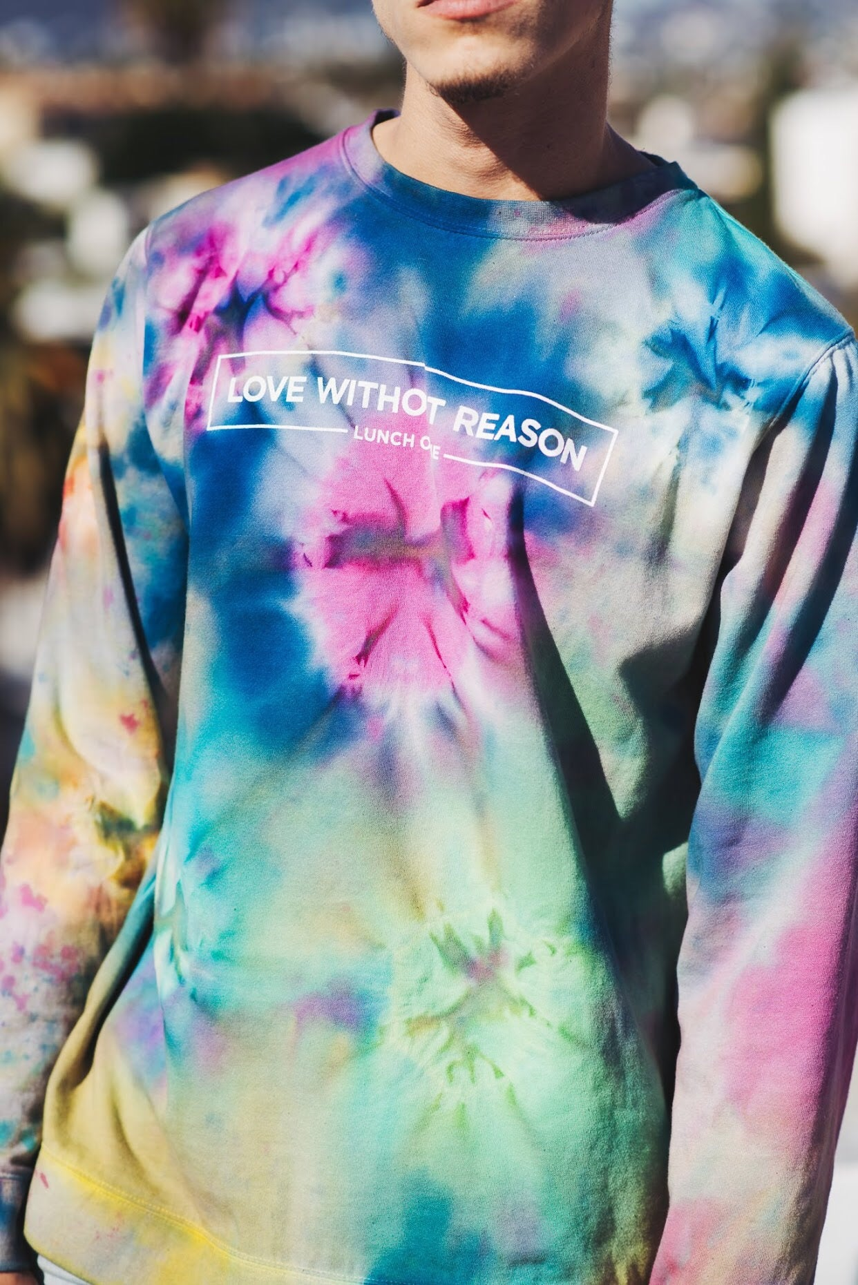 Love without Reason Unicorn Crew Neck