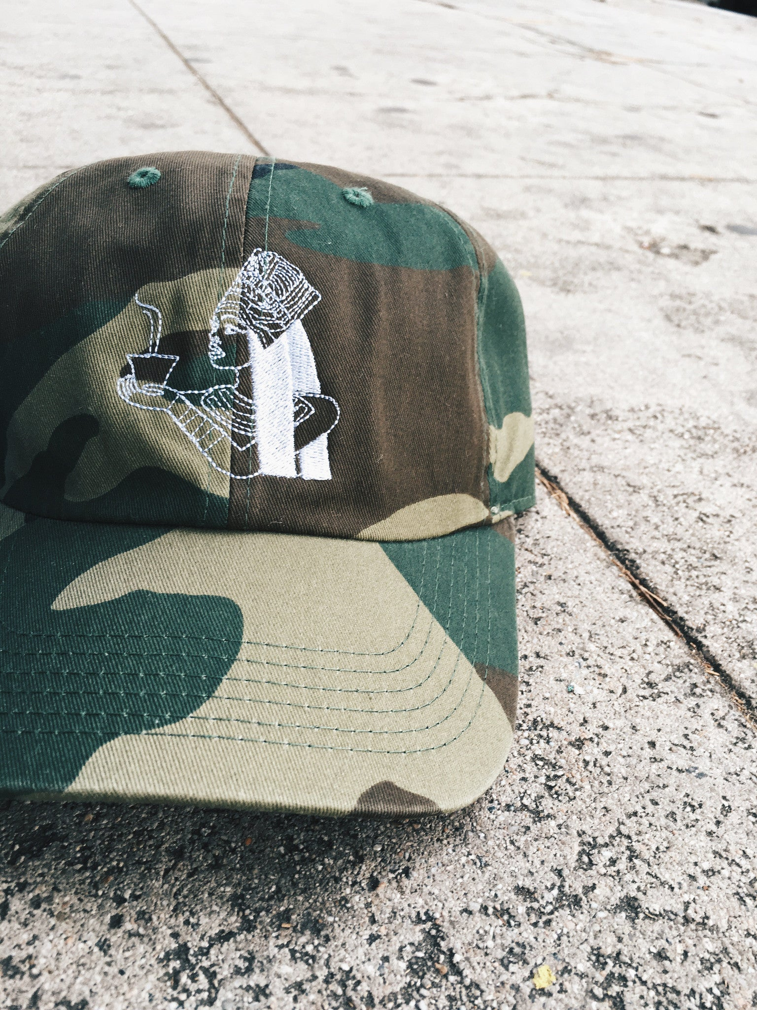 Apule Coffee Camo Dad Hat