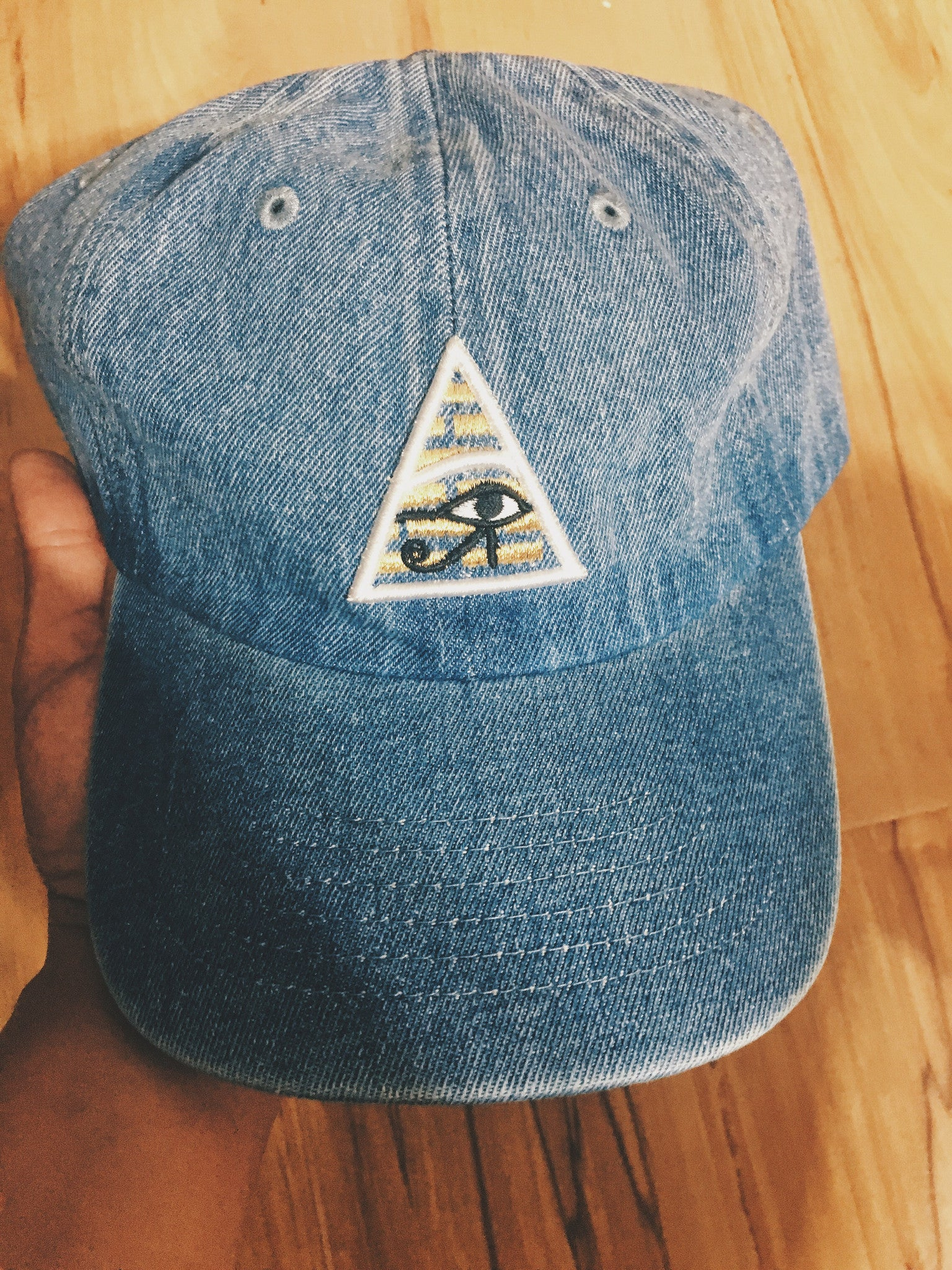 Eye of Ra Denim Dad Hat