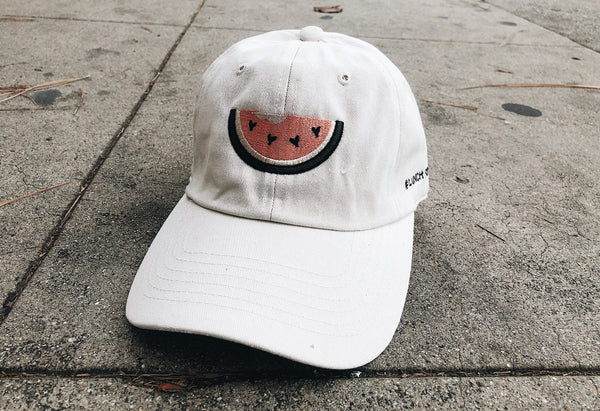 Juicy Fruit In Cream: Watermelon Dad Hat