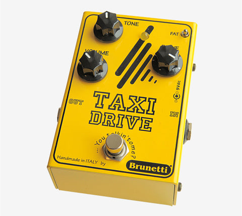 Taxi Drive Distortion Stomp Box