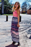 Womens Online Feeling Fine Print Maxi Dress