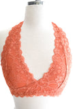 Cross My Heart Bralette Copper