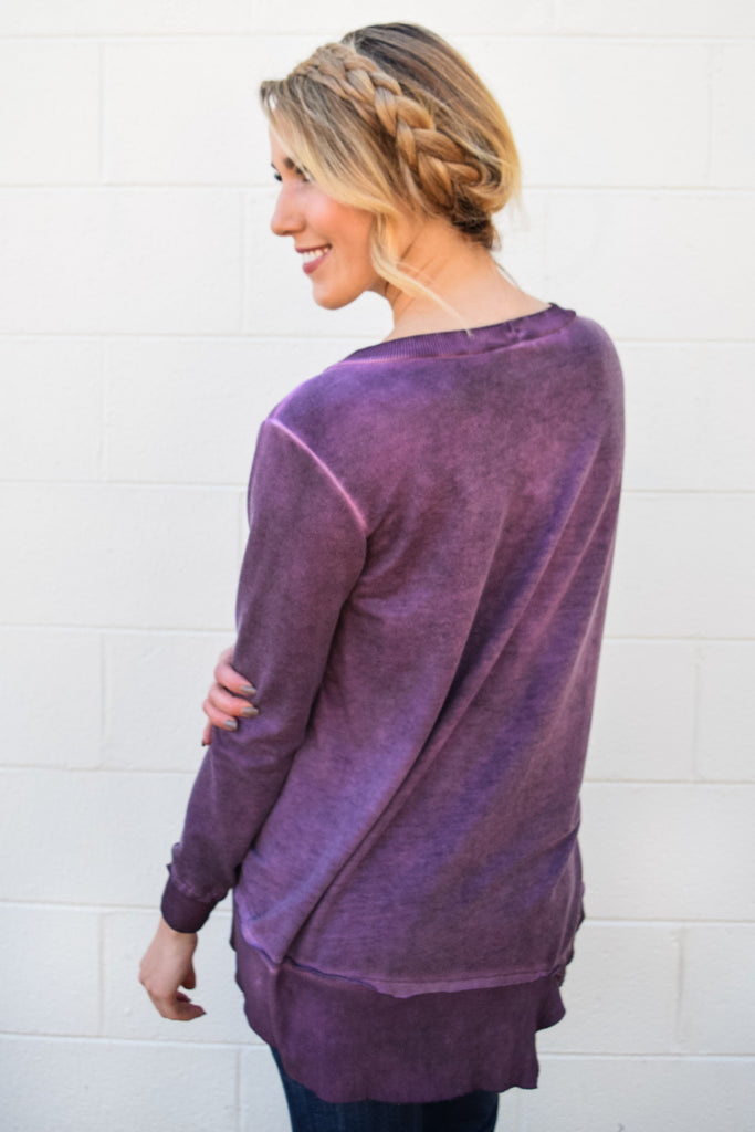 Womens Clothing cool in colorado tunic plum