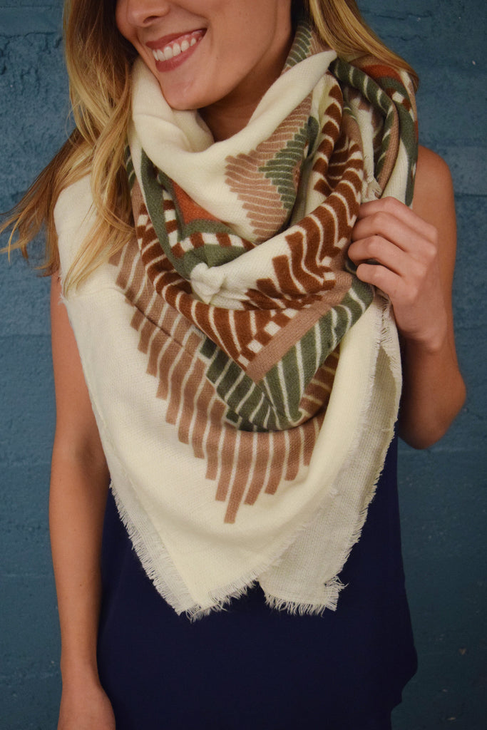Womens Clothing Free Spirit Blanket Scarf