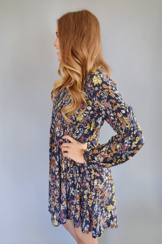 Colorado Chic estes park floral dress