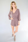 Maisy Long Sleeve Romper