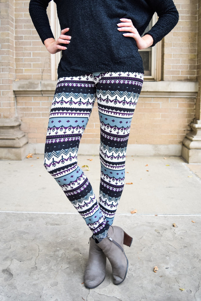 Cute Online Alpine Printed Legging