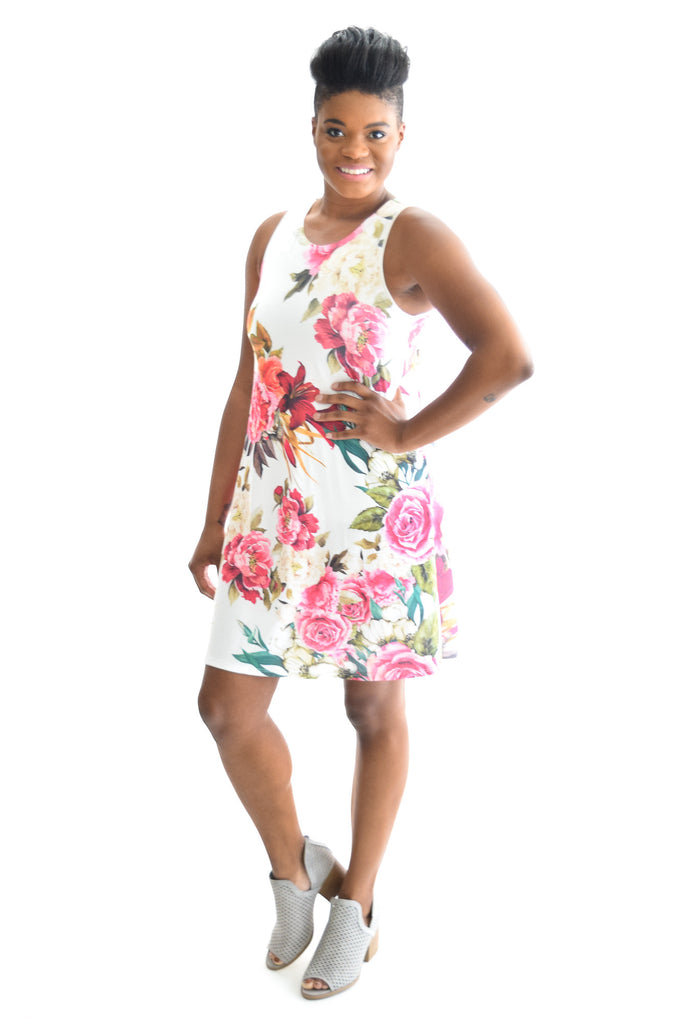 Addison Floral Dress