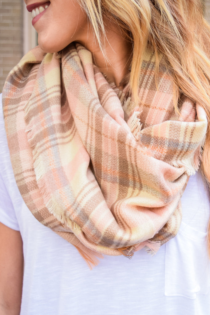 Trendy Rose Blanket Scarf