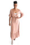 Boho Babe Maxi Dress In Mauve