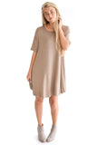 Easy To Get Dressed Dress In Olive