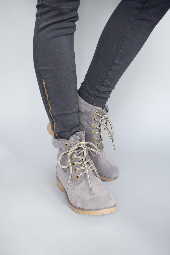 Womens Online Northern Country Hiker Boot Grey