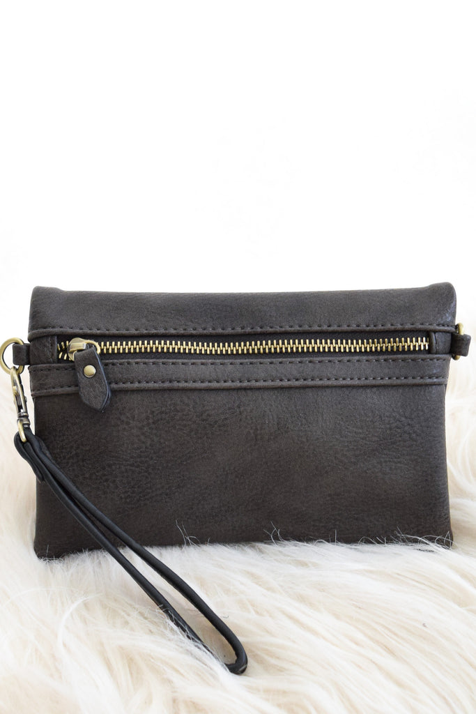 Riley Convertible Purse In Brown