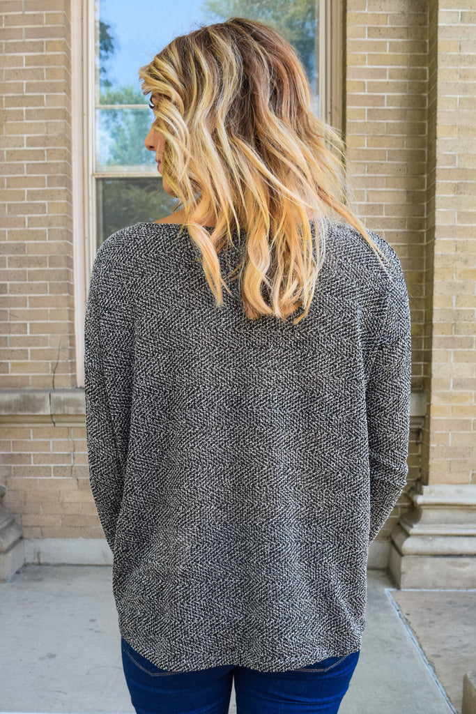 Chic london calling sweater