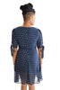 Dougherty Polka Dot Dress In Navy