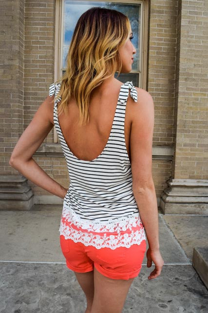 Womens Clothing it takes two stripe tank top