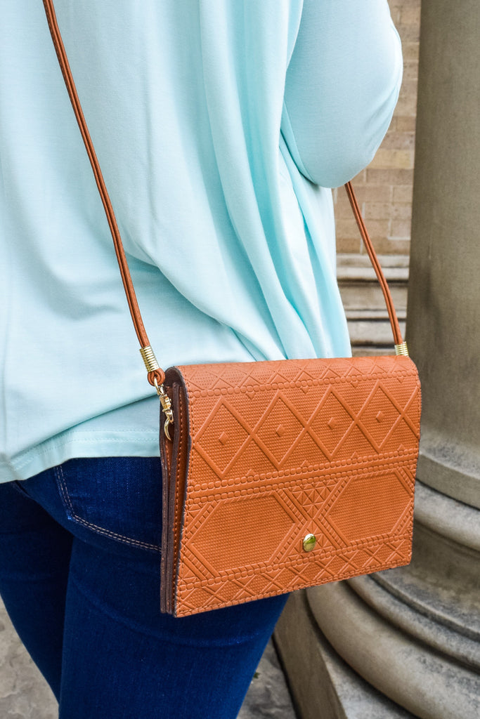 Colorado Chic Aztec Cross-Body Bag