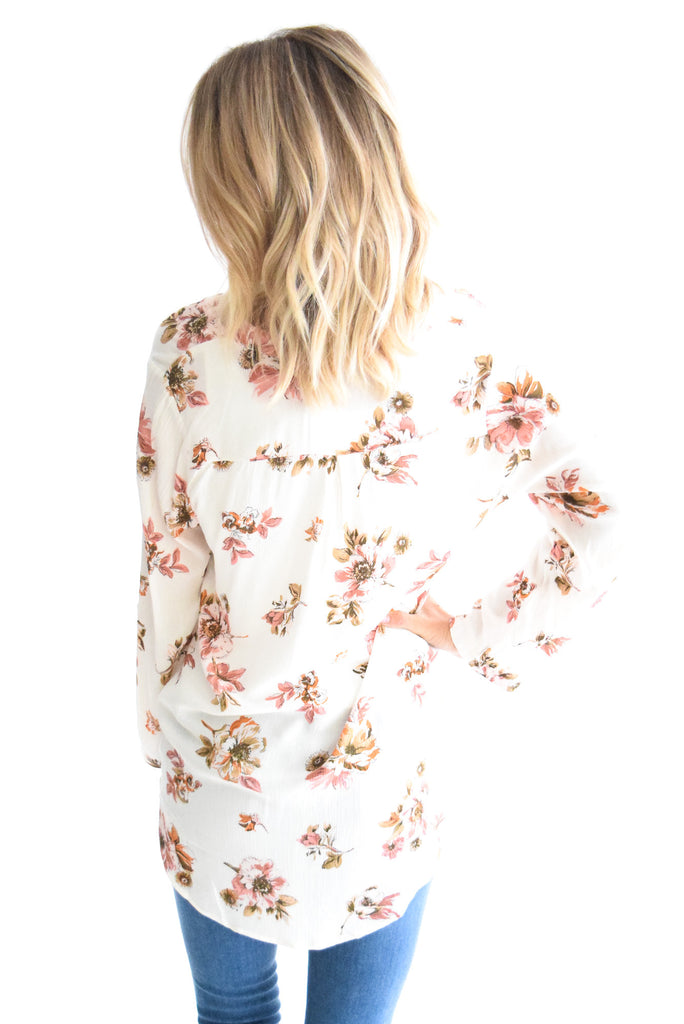 Cherry Blossom Floral Top