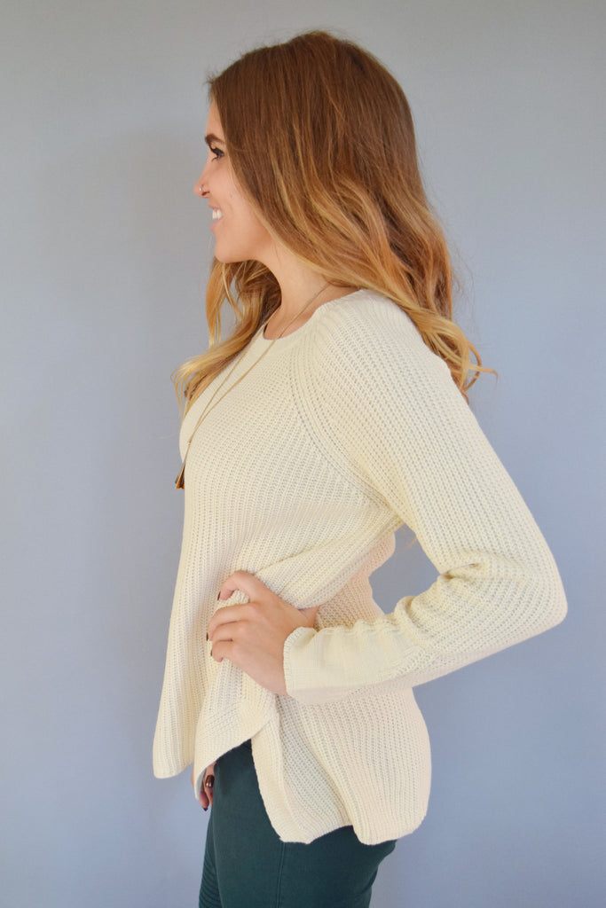 Colorado Chic restful weekend sweater