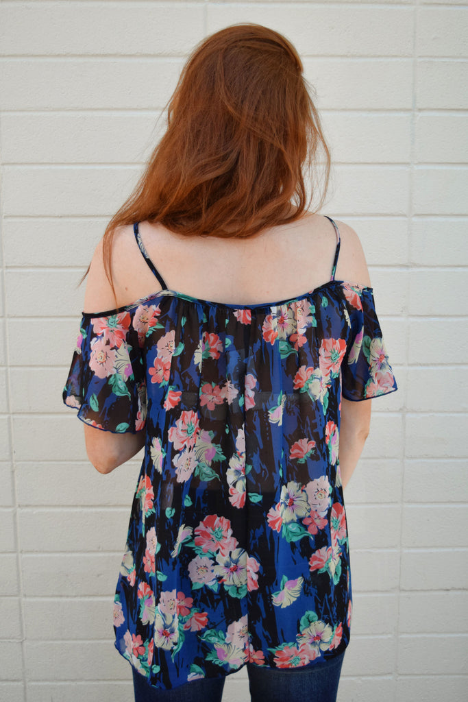 Womens Clothing wildflower open shoulder top