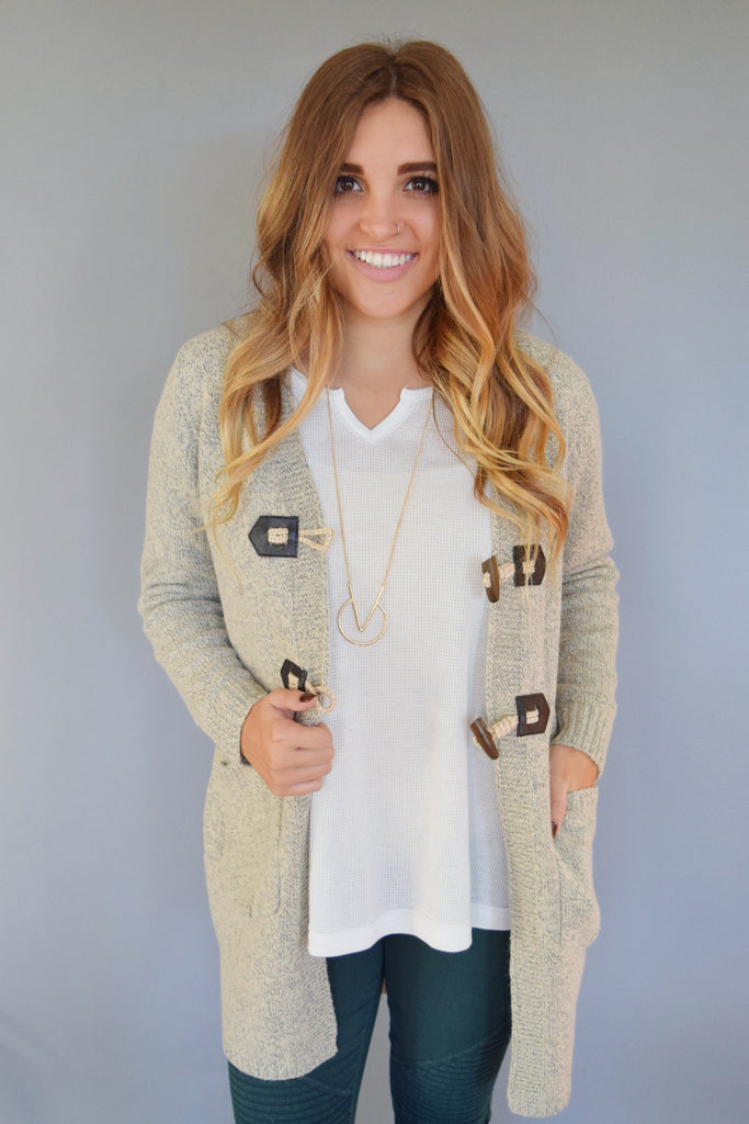 Affordable Avanti Toggle Button Cardigan