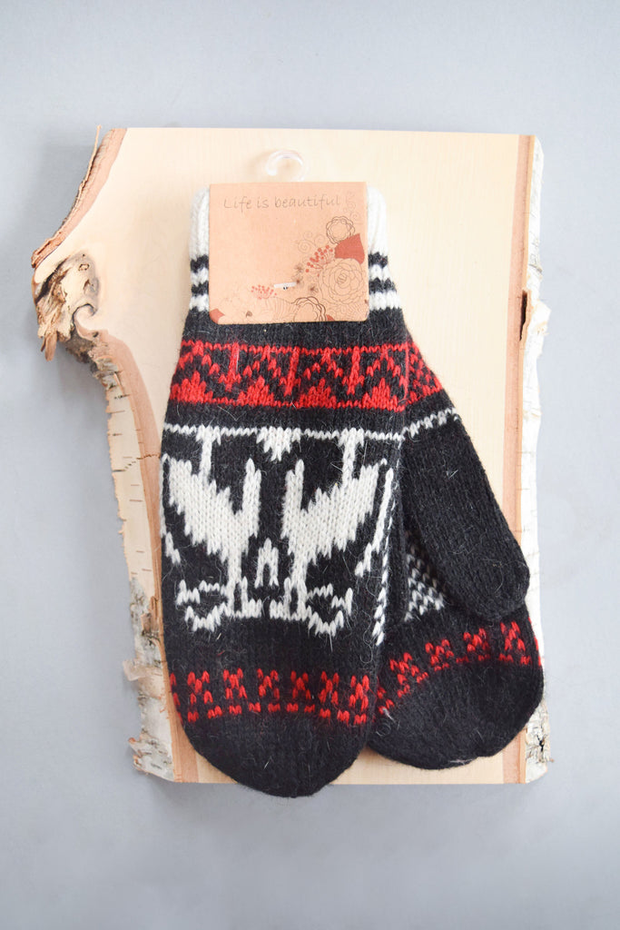 Affordable Nordic Knit Mittens