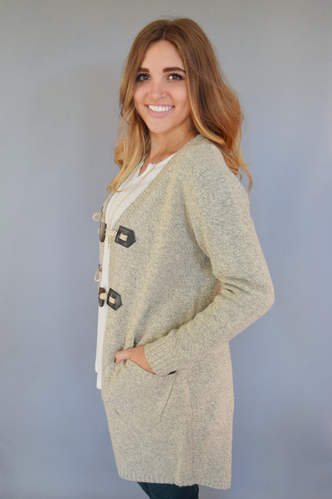 Cute Online avanti peppered basic cardigan