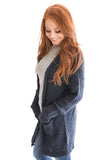 Beyond The Horizon Cardigan In Navy