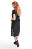 Womens Online Derby Party Black Asymmetrical Dress