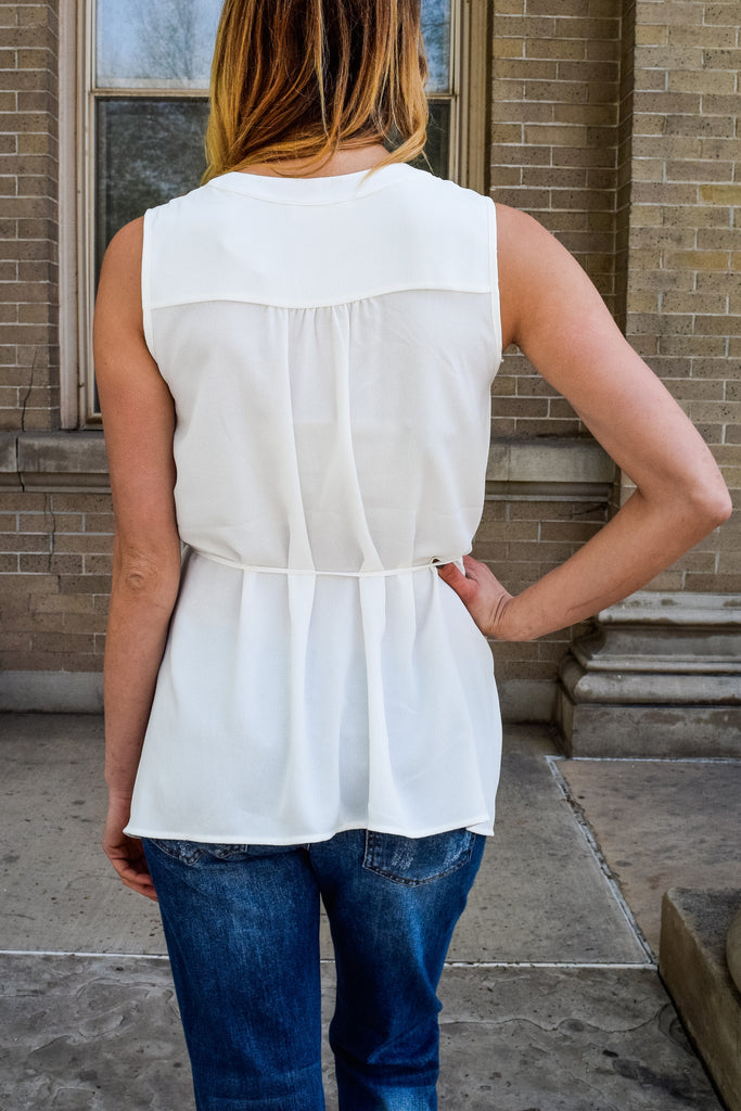 Affordable Online walk the beach white top